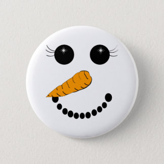 Chilly Face 2 Inch Round Button