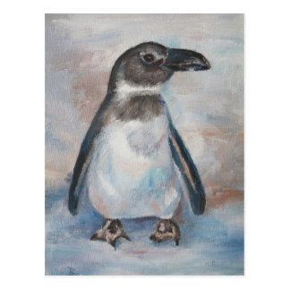 Chilly Little Penguin Postcard