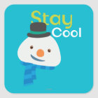 Chilly- Stay Cool 3 Square Sticker