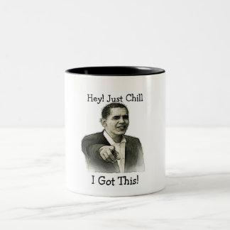 Chilly Two-Tone Coffee Mug
