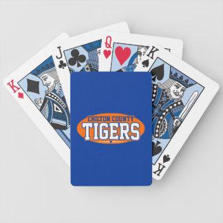 Chilton County; Tigers Poker Deck