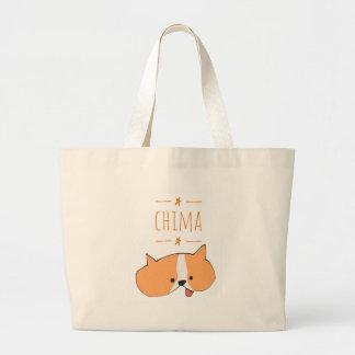 CHIMA (CARTOON) LARGE TOTE BAG