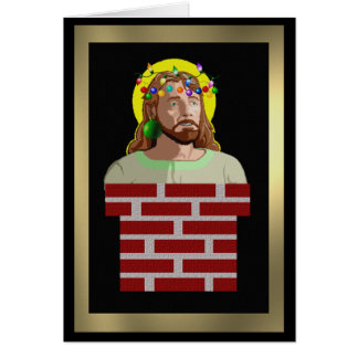 Chimney Jesus Card