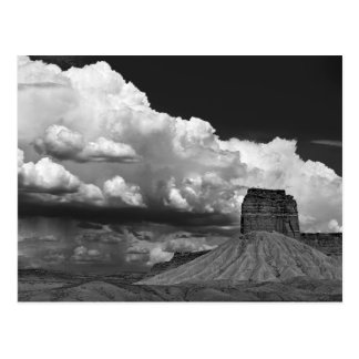 Chimney rock from Route 666 Postcard