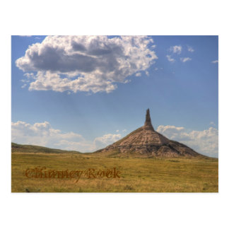 Chimney Rock, Nebraska Postcard