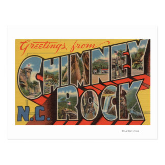 Chimney Rock, North Carolina Postcard