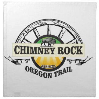 chimney rock yellow art napkin