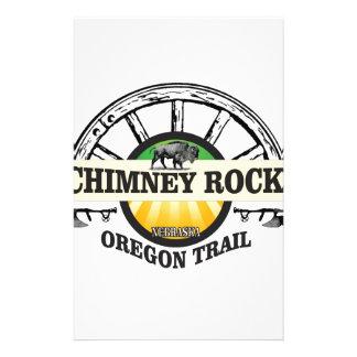 chimney rock yellow art stationery