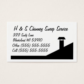 Chimney sweep business cards