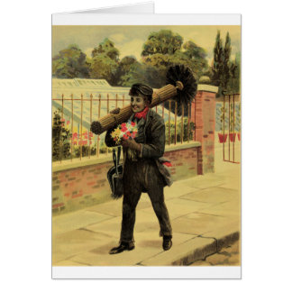 Chimney sweep of love card