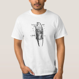 Chimney Swift Bird Art T-Shirt