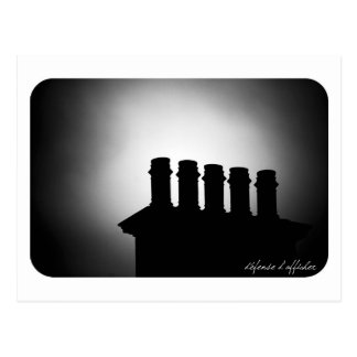 chimneys postcard
