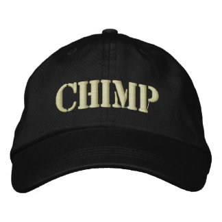 CHIMP EMBROIDERED BASEBALL CAPS