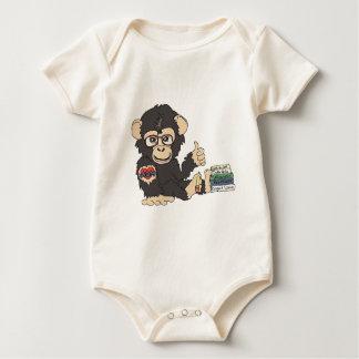 Chimpanzé de geek body
