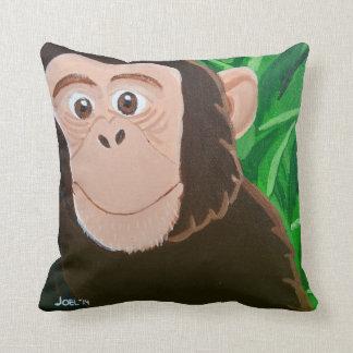 Chimpanzee 16 x 16 Square Pillow
