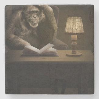 Chimpanzee Ape Monkey Stone Coaster