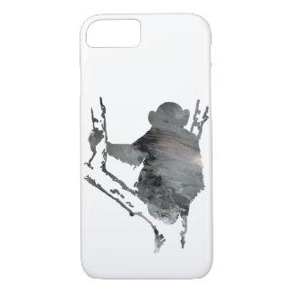 chimpanzee art iPhone 8/7 case