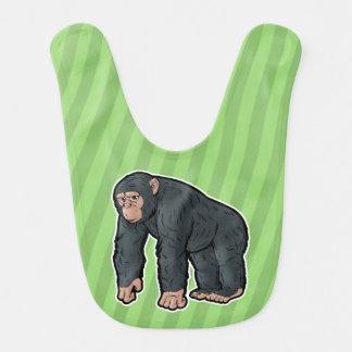 Chimpanzee Baby Bib