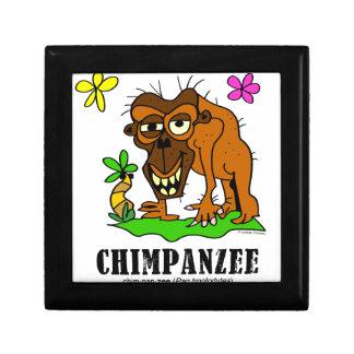 Chimpanzee by Lorenzo © 2018 Lorenzo Traverso Gift Box