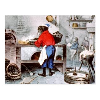 Chimpanzee Chef Postcard