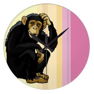 chimpanzee clock