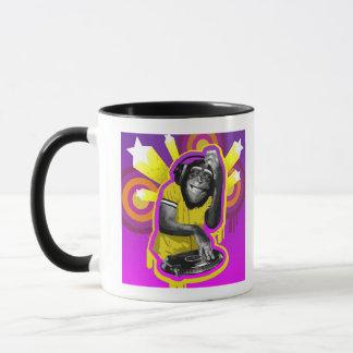 Chimpanzee DJ Mug