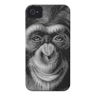 Chimpanzee Head iPhone 4 Case