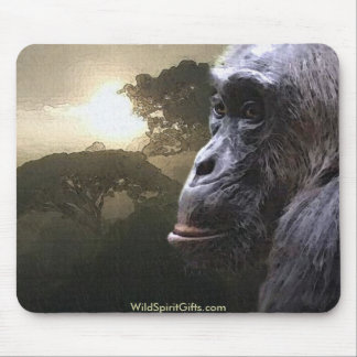 Chimpanzee Mousepad