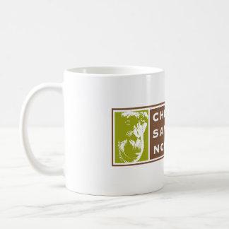 Chimpanzee Sanctuary Northwest 11oz white mug