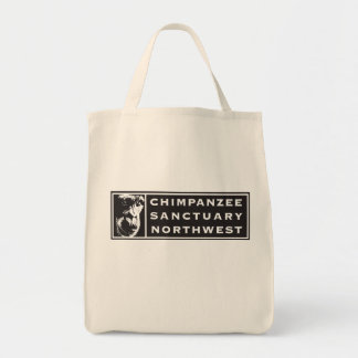 Chimpanzee Sanctuary Northwest Classic Logo Tote