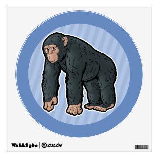 Chimpanzee Wall Decal