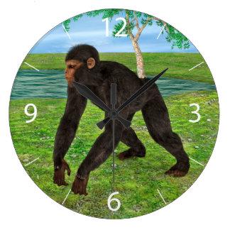 Chimpanzee Wallclocks