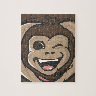 Chimpsee Face Jigsaw Puzzle