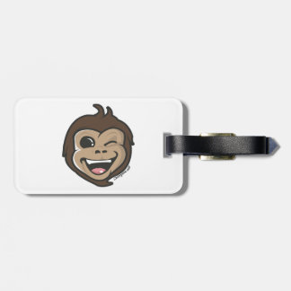 Chimpsee Face Luggage Tag
