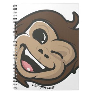 Chimpsee Face Notebooks