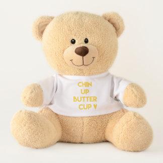 Chin up buttercup | Sweet Motivational Teddy Bear