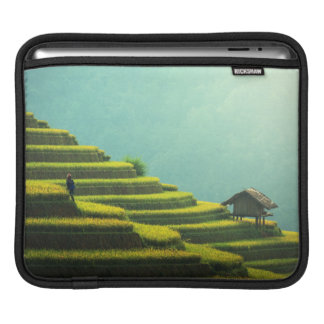 China agriculture rice harvest iPad sleeve