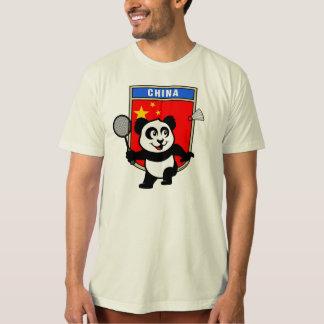 China Badminton Panda T-Shirt