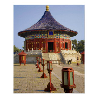 China, Beijing, Tian Tan Park, Temple of Heaven, Poster