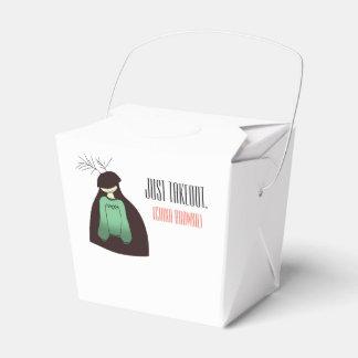 China Brownie takeout box! Favor Box