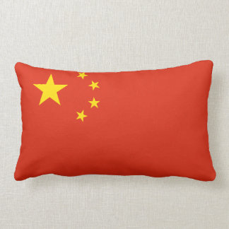 China Chinese Flag People's Republic of China Flag Lumbar Pillow