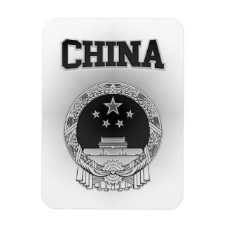 China  Coat of Arms Magnet