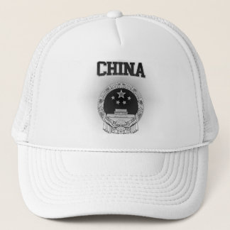 China  Coat of Arms Trucker Hat