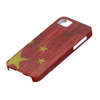 China distressed Chinese flag iPhone 5 Case