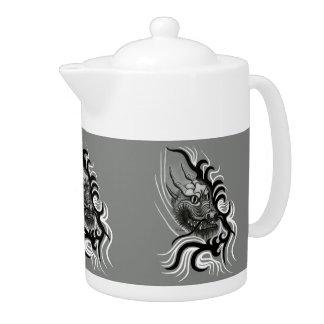 China-Dragon  in Tattoo Style