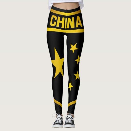 China Emblem Leggings