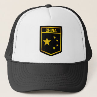 China Emblem Trucker Hat
