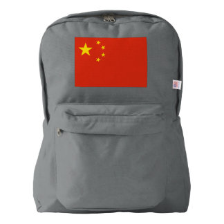 China Flag Backpack