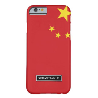 China Flag Barely There iPhone 6 Case