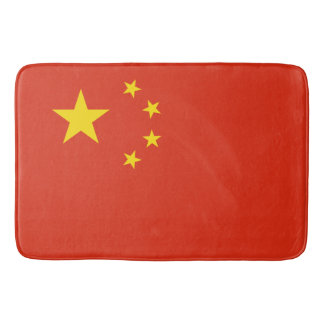 China Flag Bath Mat